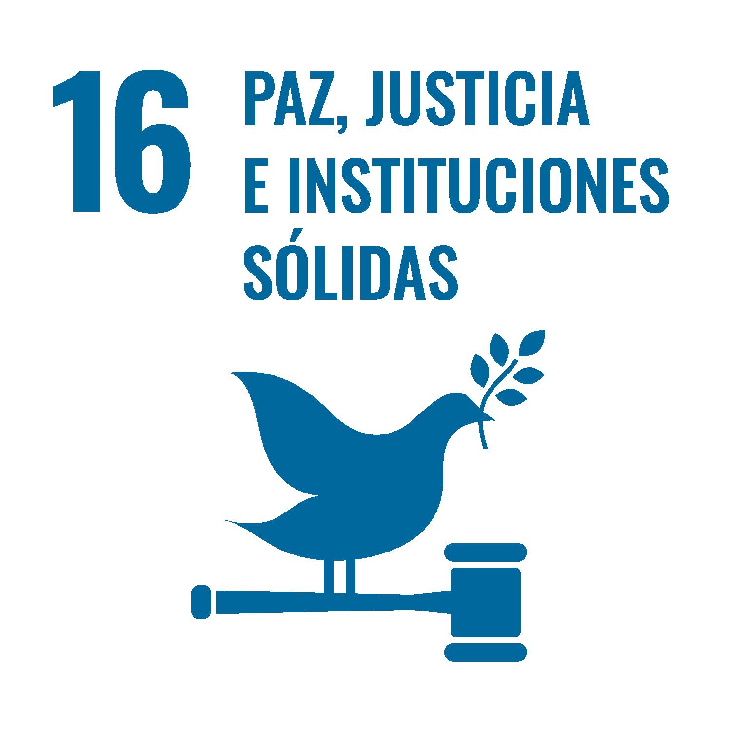 Objetivos ONU paz justicia e instituciones sólidas
